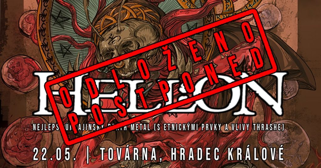 Metal v továrně 19: Hell:on (nejlepší ukrajinský thrash/death)