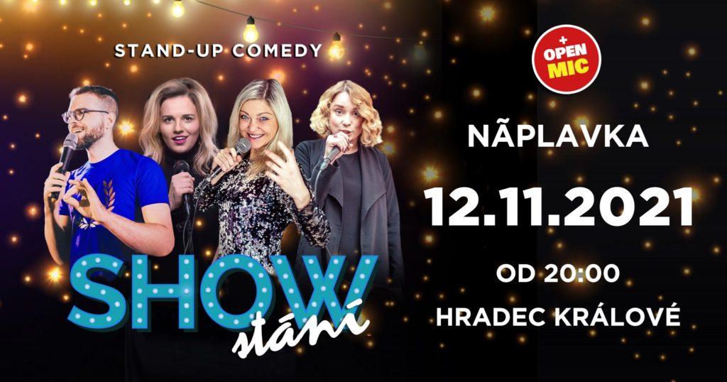 SHOW STÁNÍ (stand-up comedy)