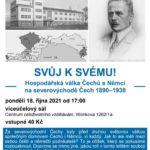 Svůj k svému - Hospodářská válka Čechů s Němci na severovýchodě Čech 1890–1938