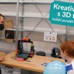Kreativní dílna s 3D tiskem