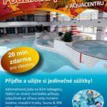 Podzimní prázdniny v hradeckém aquacentru - 20 minut zdarma!